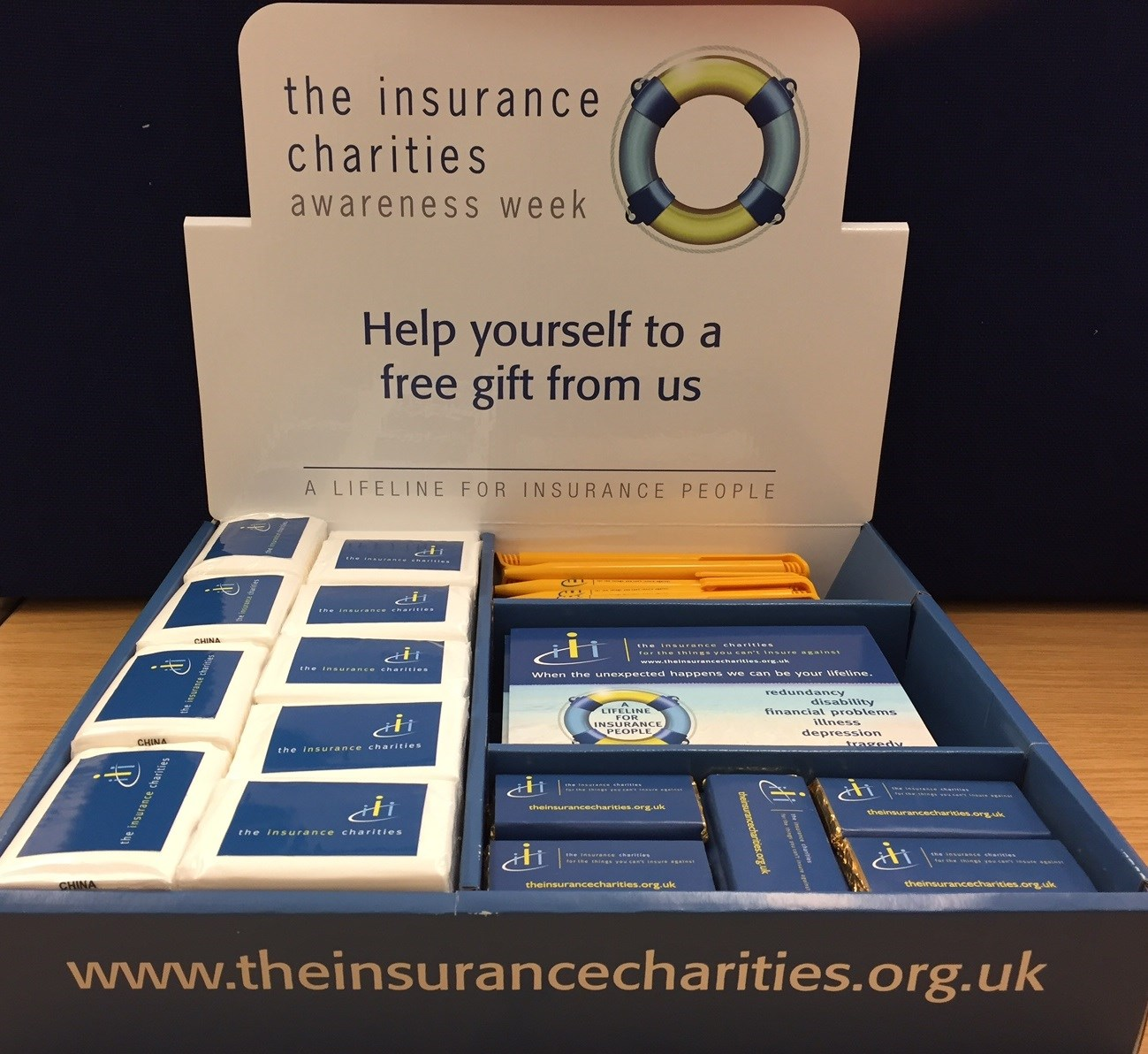 Insurance Charities Awareness Week 2017 - what you need to know!